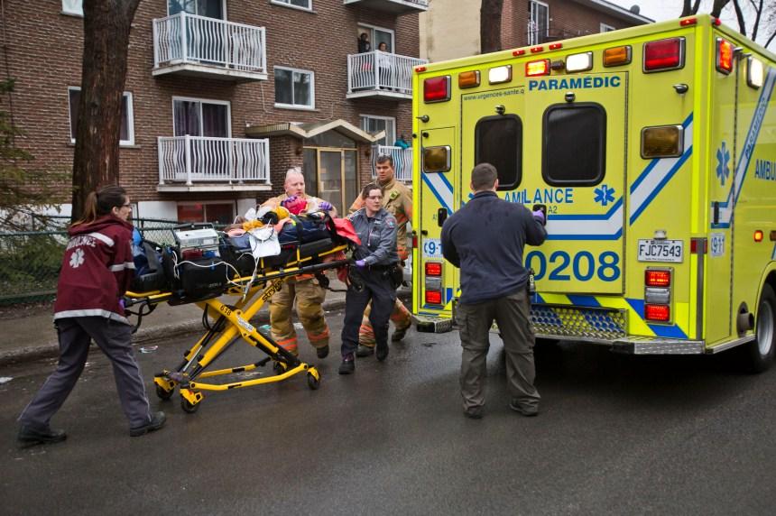 Montréal-Nord: l'homme atteint par une balle de plastique est mort