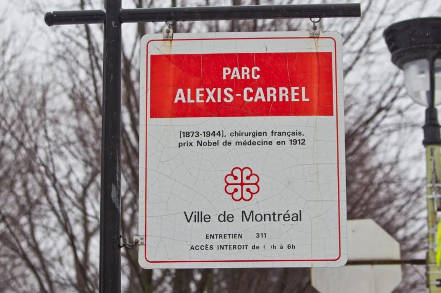 Le nom d'Alexis Carrel bientôt retiré des rues montréalaises