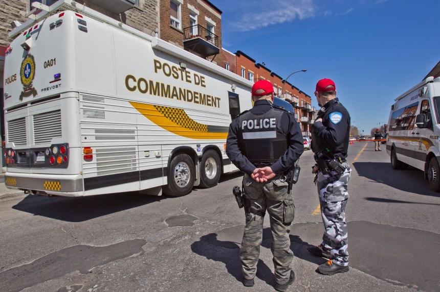 Atteint par balled'un policier du SPVM: les résidents inquiets