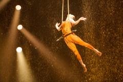 Des Chinois en visite au Cirque du Soleil