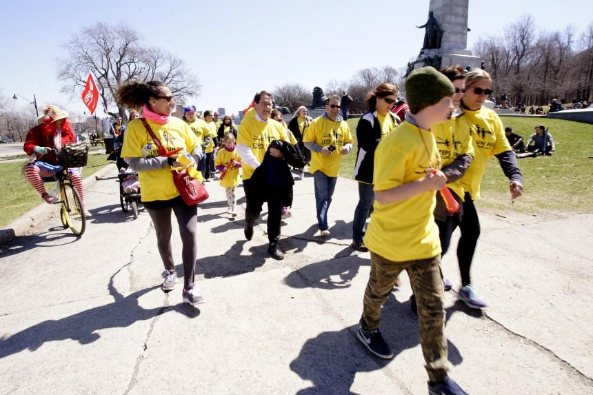 Une marche pour prévenir les décès en milieu de travail