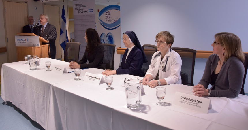Soins palliatifs: 28 nouveaux lits pour l'est de Montréal