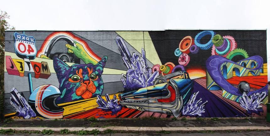 Des ateliers pour apprendre l'art du graffiti