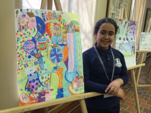 Marwa Malajati, élève de l'école Adélard-Desrosiers, a remporté cette septième édition.