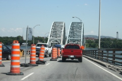 Pont Mercier: Une seule voie cet été
