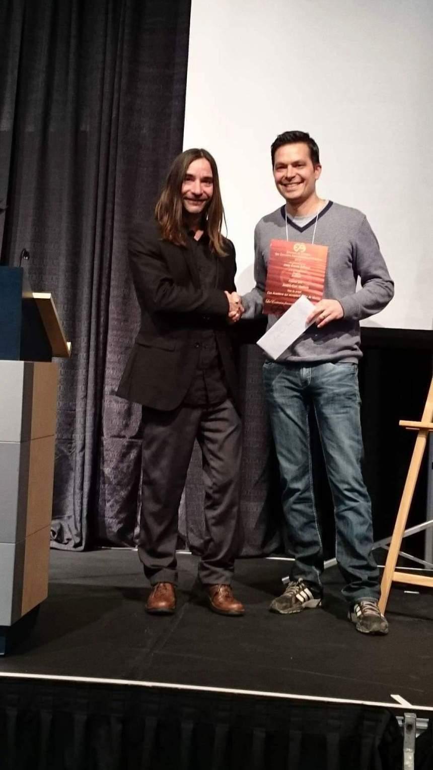 Un auteur Rosemontois  gagne un prix pour son œuvre