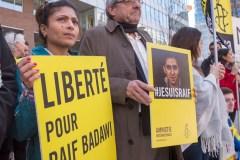 Raif Badawi:les militants toujours au rendez-vous