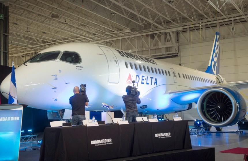 La C-Series de Bombardier en question