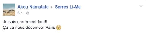 Serres Li-Ma commentaires Paris
