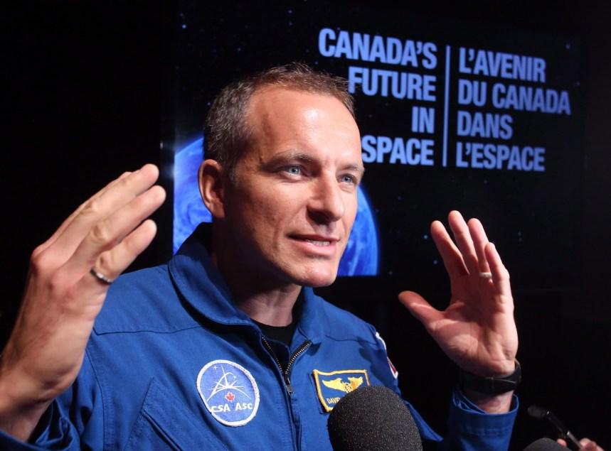 Un Québécois à la Station spatiale internationale