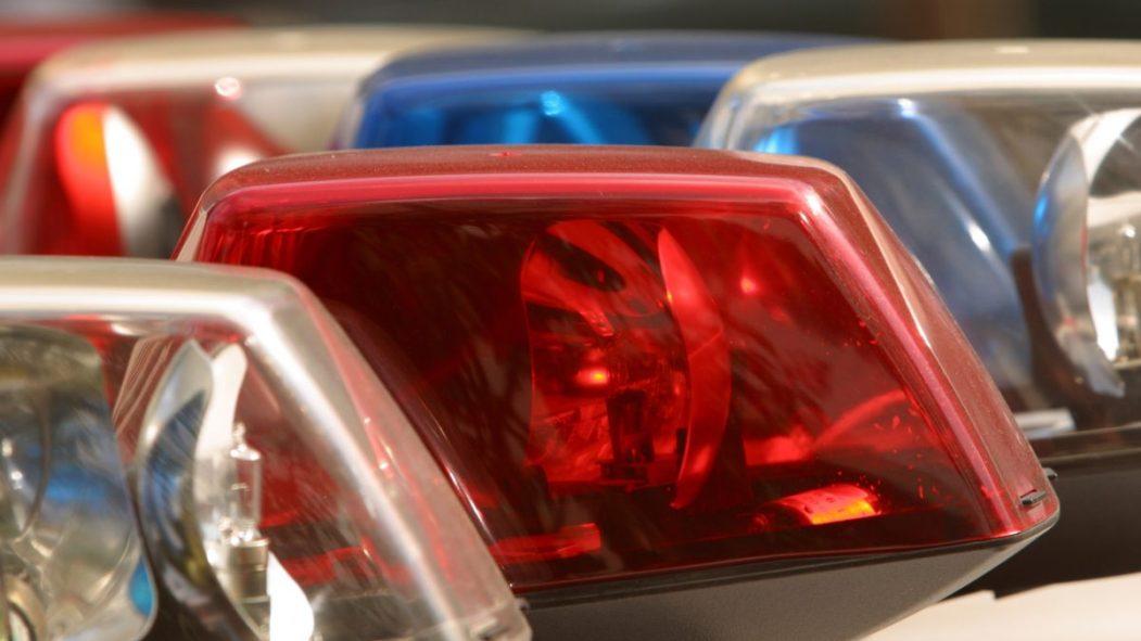 Des gyrophares de police