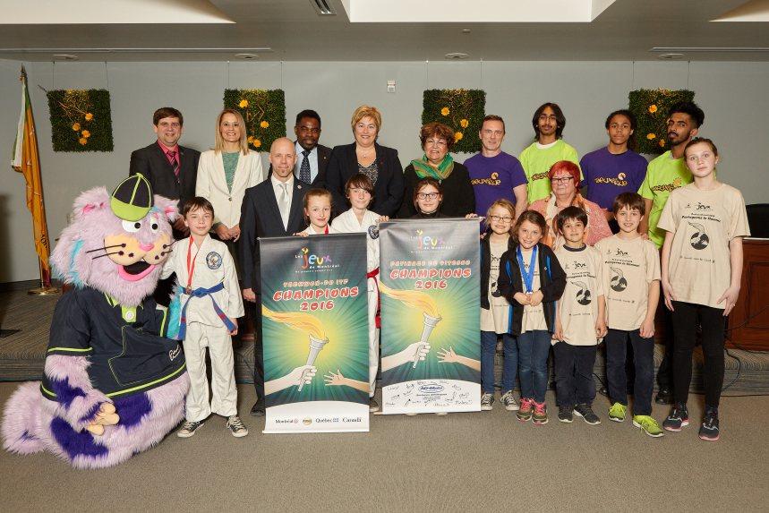 Des jeunes de l'arrondissement s'illustrent aux Jeux de Montréal