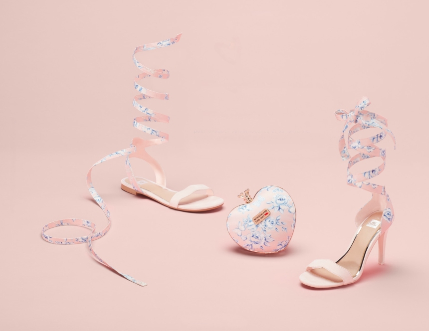 Des chaussures et des sacs inspirés de l'univers d'Alice