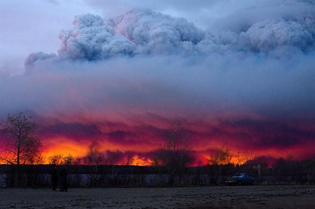 Événement météo de 2016: feu à Fort McMurray
