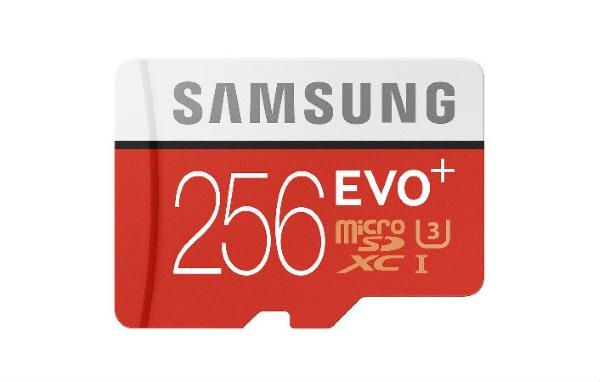 Samsung lance une carte microSD de 256 Go (soit 177 800 disquettes)