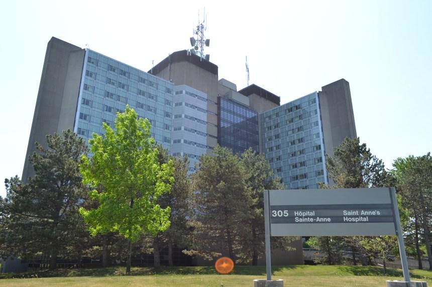 L'Hôpital Sainte-Anne devient un CHSLD