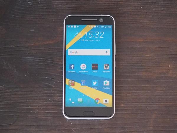 Mise à l'essai du HTC 10: une belle surprise