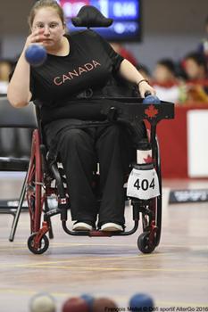 Alison Levine double médaillée!