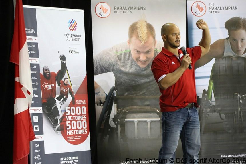 Rêver de devenir Paralympien