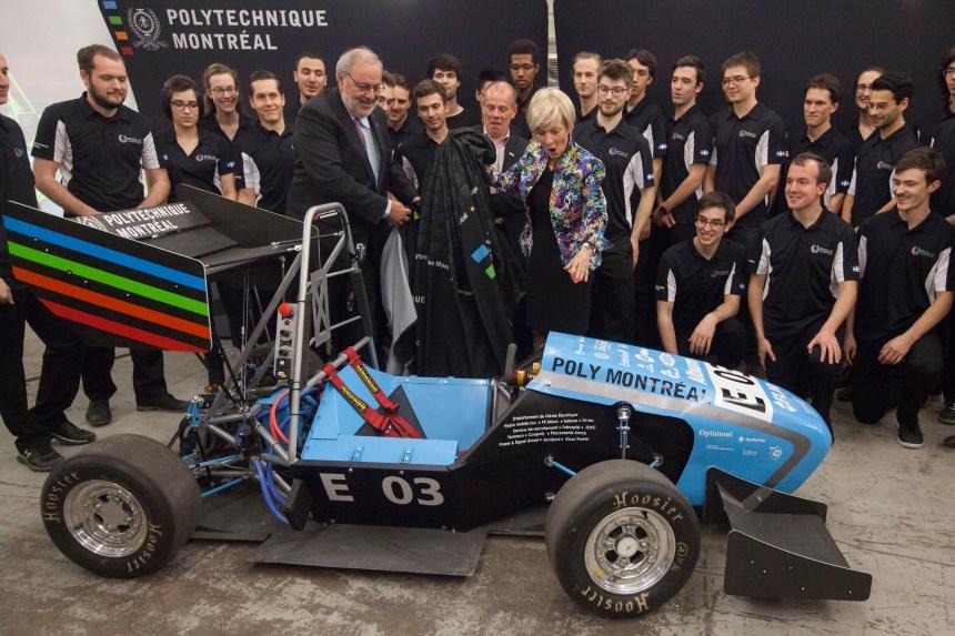 100 km/h en 4 secondes: Polytechnique bâtit une voiture électrique unique
