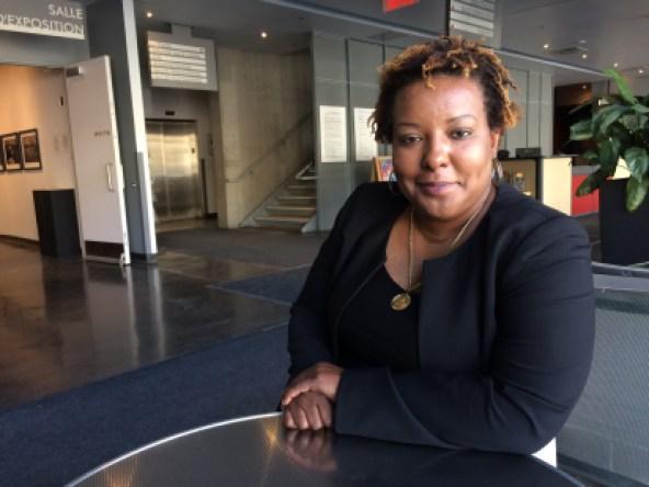 Rose-Andrée Hubbard a quitté Haïti pour s'installer à Montréal en 2002 avec ses trois filles.