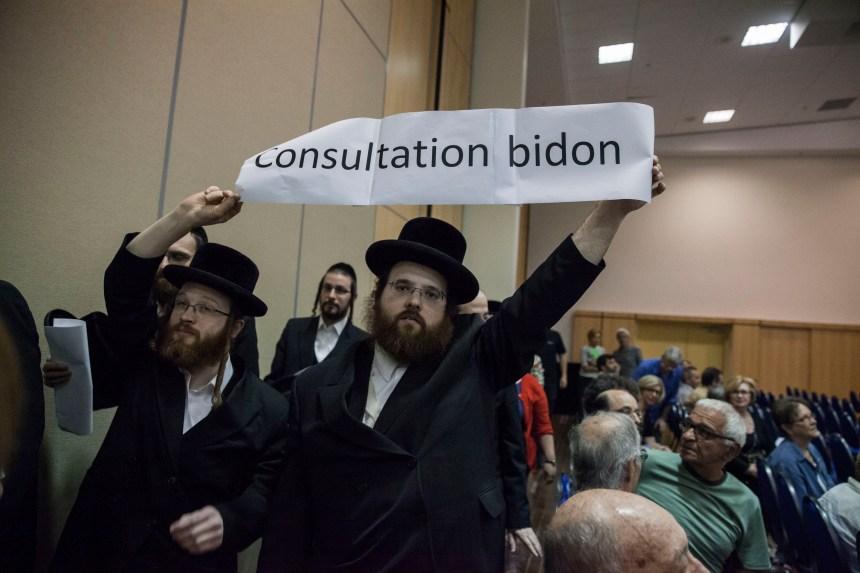 Lieux de culte: la communauté hassidique dénonce une «consultation bidon»