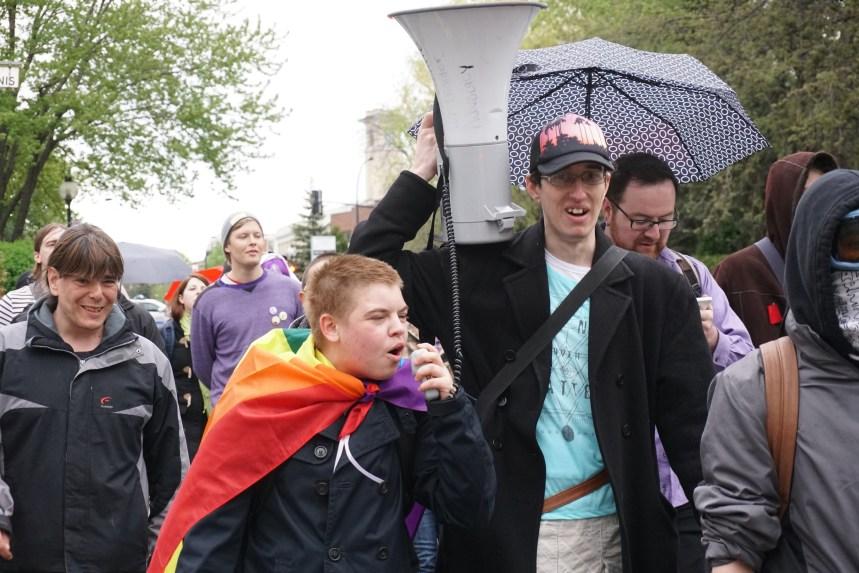 Une marche pour dénoncer la transphobie