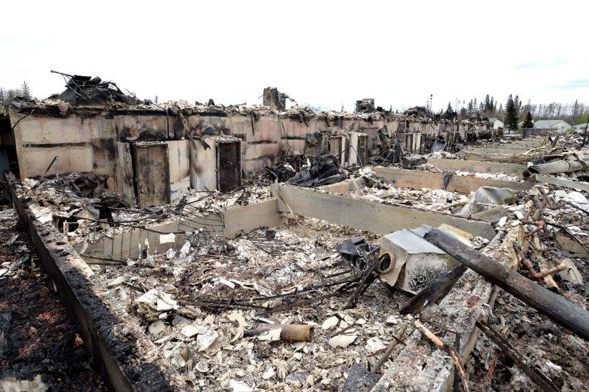 Les feux de forêt laissent des cendres toxiques