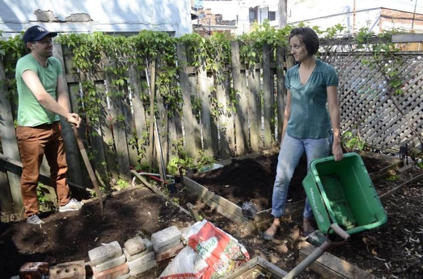 Des citoyens invitent à l'agriculture urbaine