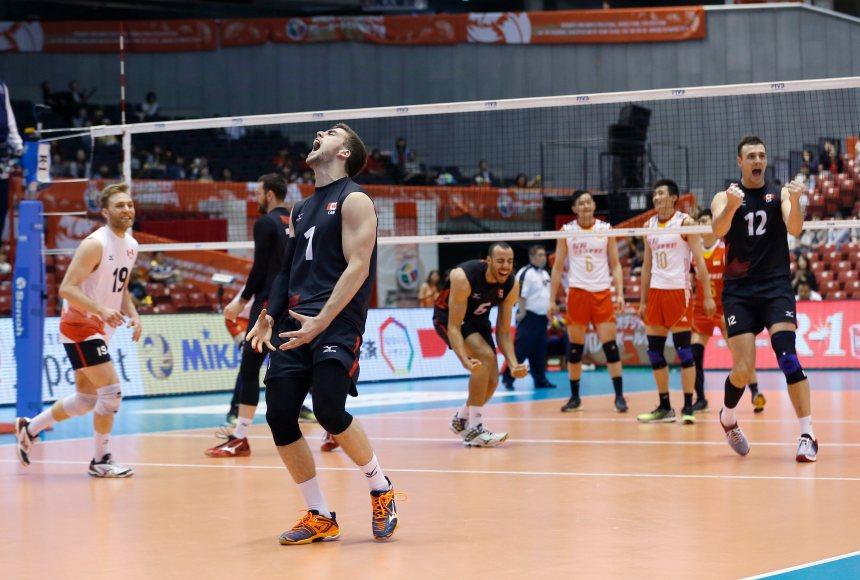 Volleyball masculin: le Canada qualifié