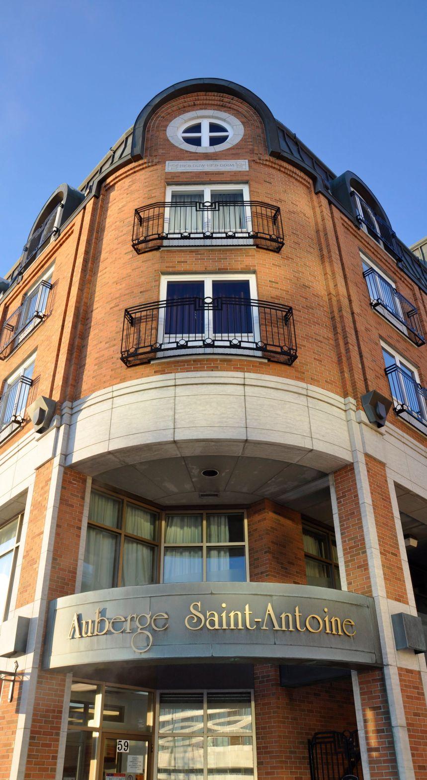 Auberge Saint-Antoine: séjour de luxe dans l'histoire