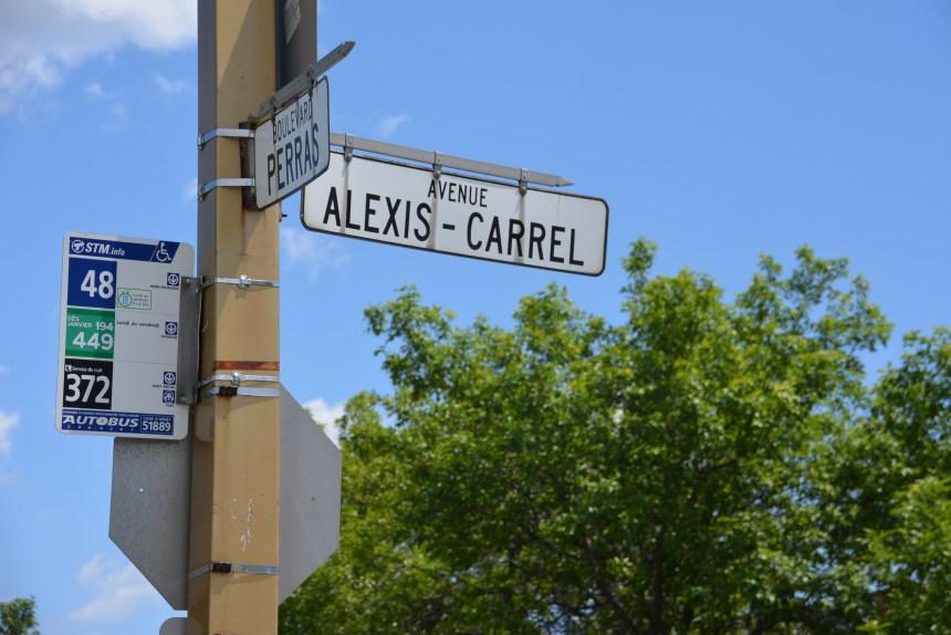 Le nom d'Alexis Carrel supprimé de la toponymie montréalaise