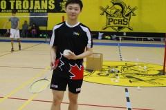 Athlète du mois Cités Nouvelles: un joueur de badminton de Pierrefonds remporte la palme