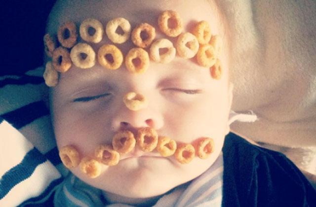 Tendance Instagram: le «cheerio challenge»