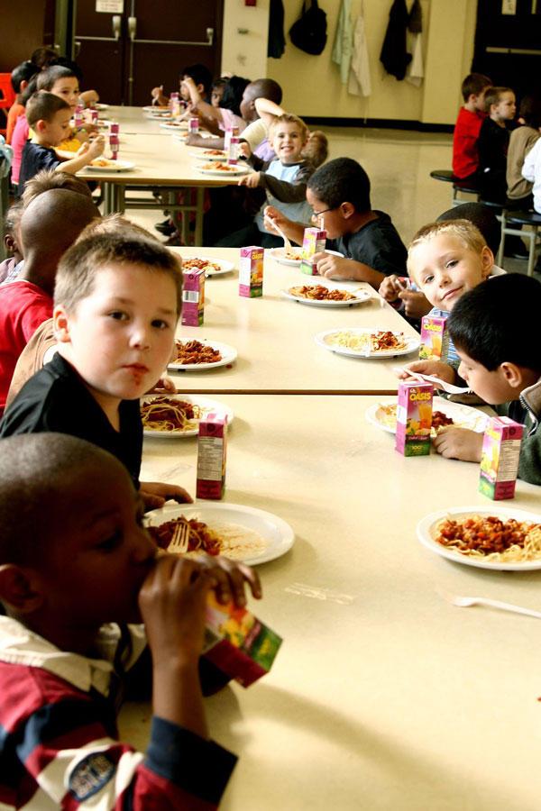 Un déjeuner pour tous les enfants