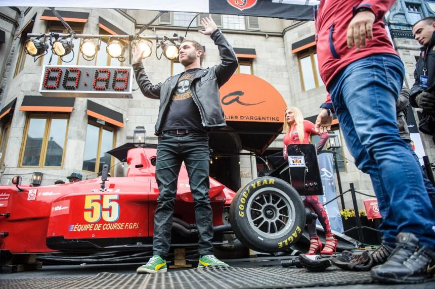 En photos: Les festivités du Grand Prix lancées sur Crescent