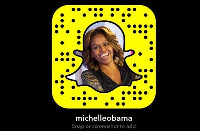 Michelle Obama rejoint Snapchat