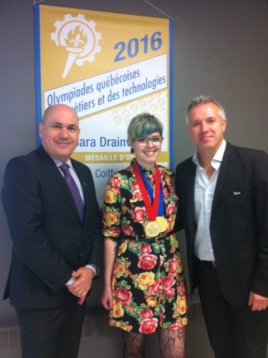 L'or pour Sara Drainville