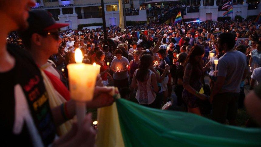 Une vigile pour les attentats d'Orlando à L'Île-des-Soeurs