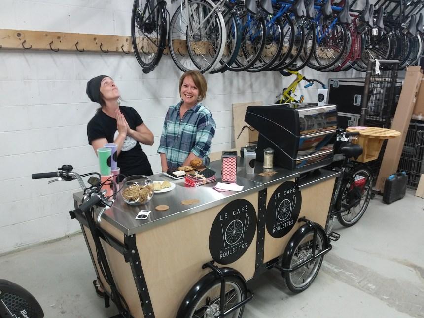 Des cafés ambulants dans des parcs de Villeray