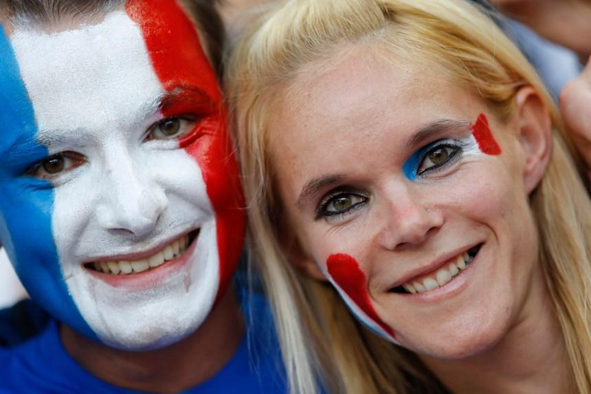 Photos: Les fans aux couleurs de leur équipe favorite