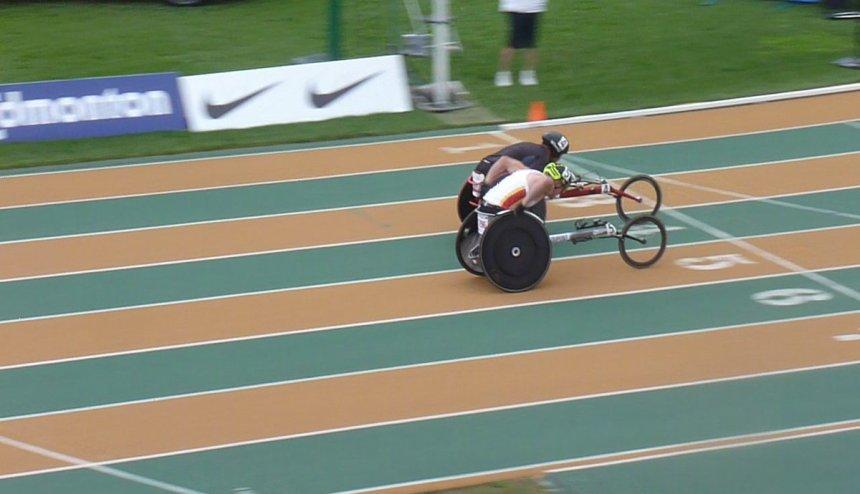 Les para-athlètes performent à Edmonton