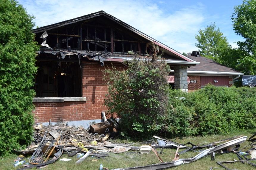 Du «pot» dans une maison incendiée à Pierrefonds