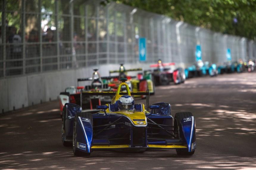 Une course de Formule E à Montréal en juillet 2017