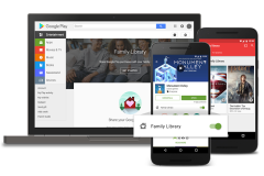 Google Play Family Library: pour partager ses applications Android (et plus)