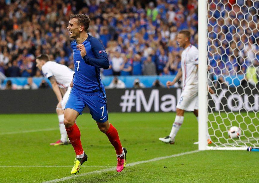 La France freine le parcours de rêve islandais