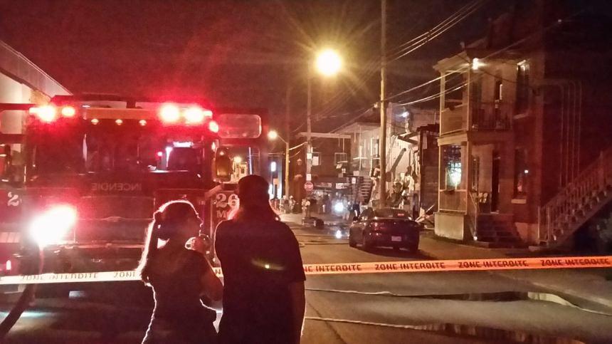 50 000$ de dommages dans un incendie à Lachine