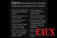 Non, le Japon n'a pas interdit l'immigration de musulmans
