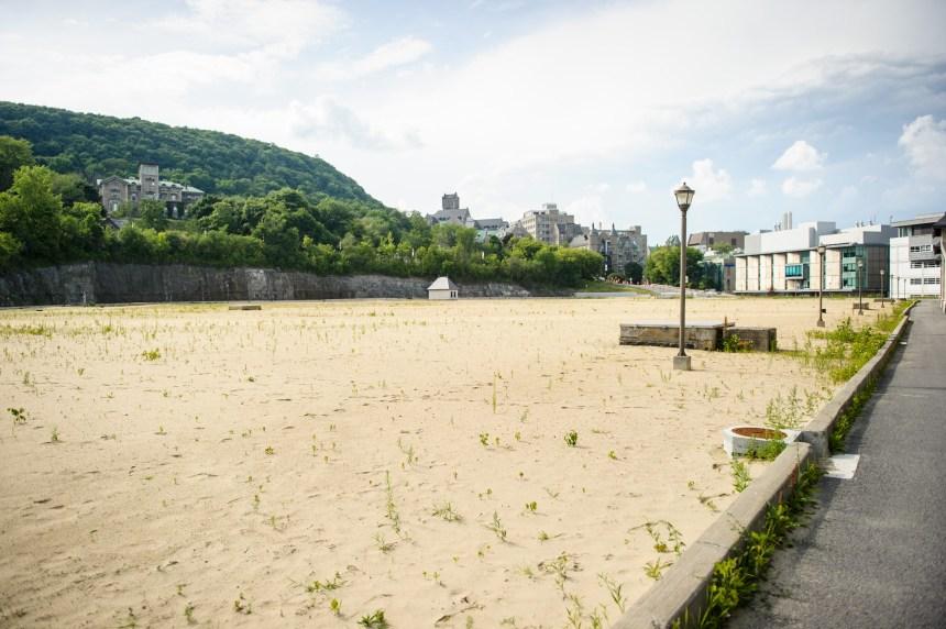 Héritage Montréal s'élève contre le projet de terrain sportif sur le mont Royal