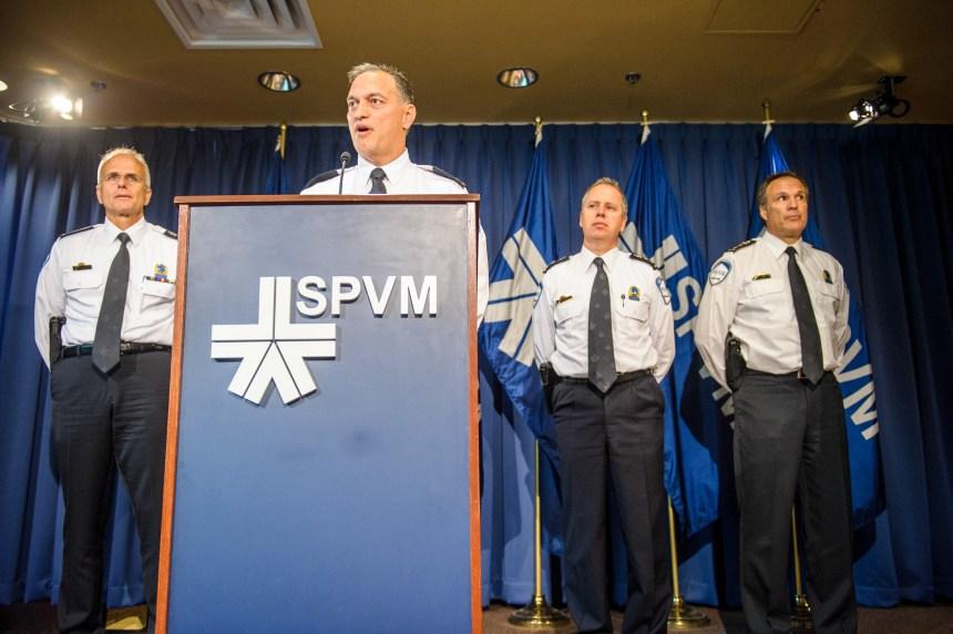 Quatre policiers du SPVM arrêtés